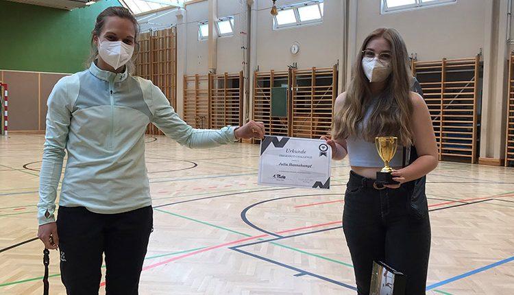 Siegerin der Sport-Challenge HAK/HAS Leibnitz