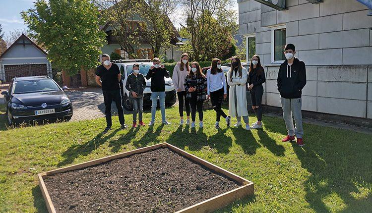 Projekt Blumenwiese der HAK/HAS Leibnitz