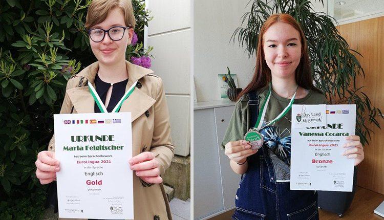 Gold- und Bronzemedaillie bei der Eurolingua