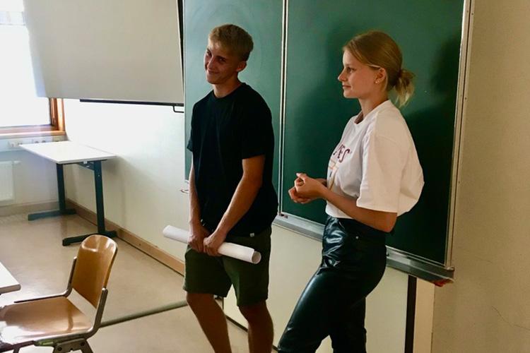 Präsentation der Ergebnisse des Workshops Innoschool an der HAK Leibnitz