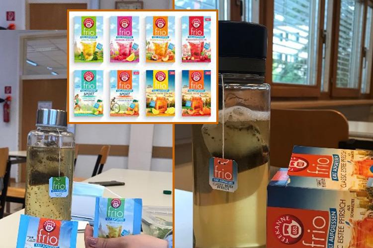 Schüler/innen der HAK Leibnitz testen Teesorten