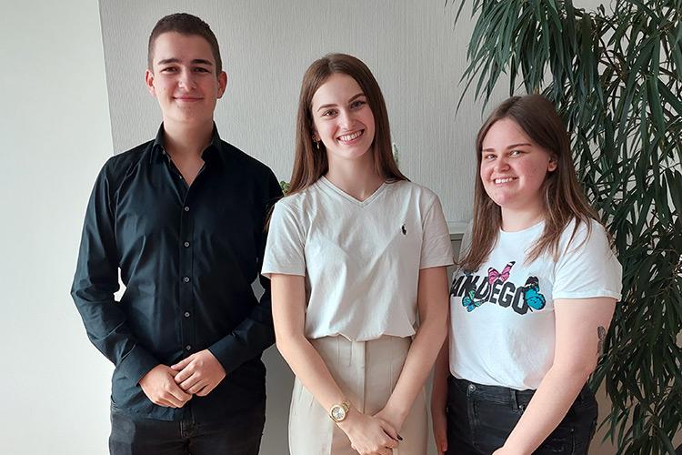 Lena Sommer, Schulsprecherin der HAK/HAS Leibnitz im Schuljahr 2021/22