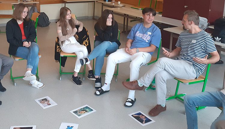 """Workshop """"Verrückt, na und?"""" an der HAK/HAS Leibnitz"""